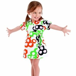 DVF Gap Kids Wrap Dress medium 8